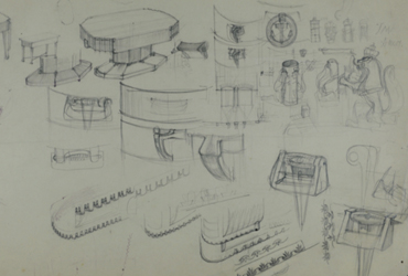 Recent ontdekte tekeningen werpen nieuw licht op Amsterdamse School