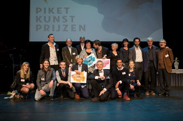 2015 groepsfoto podium