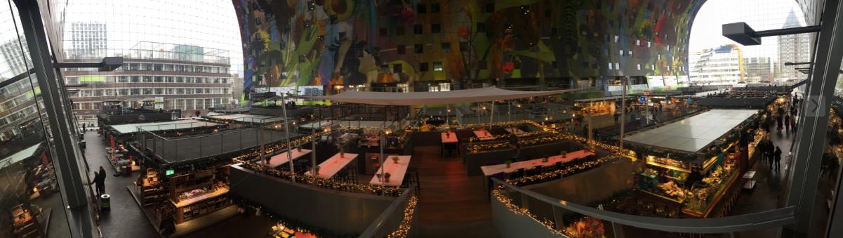 Markthal Rotterdam_breed lang beeld