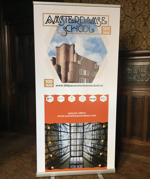 roll-up 100 jaar Amsterdamse School_februari 2016