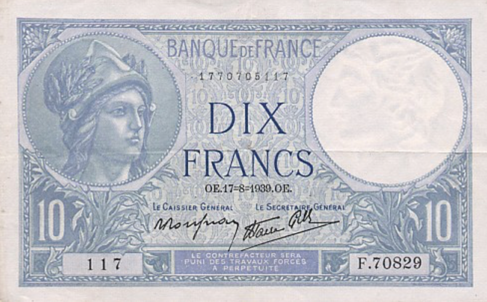 France_10_Francs-1939_-_Billet_de_10_francs_Minerve_—_Wikipédia-1